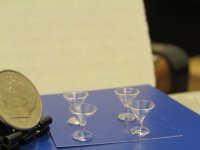 "#650 1"" Scale Martini Glasses"