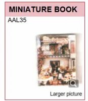 AAL35 MINIATURE BOOK