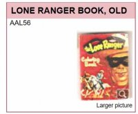 AAL56 THE LONE RANGER BOOK