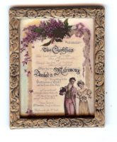 72242 Certficate of Matrimony
