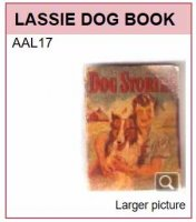AAL17 LASSIE DOG BOOK