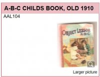 AAL104 ABC CHILDS BOOK