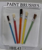 HHL43 SET OF 5 PAINT BRUSHES