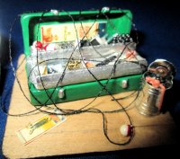 Happy Fisherman Tackle Box
