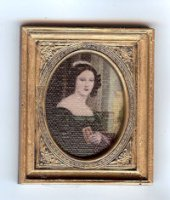 62130C Bust of Flemish Lady (Canvas)