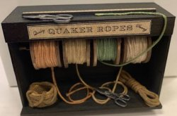 rope rack display