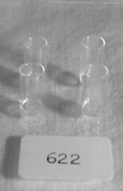 "#622 1"" Scale Milk Glasses"