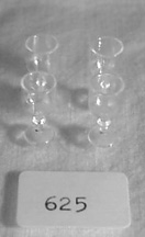 "#625 1"" Scale Fancy Water Goblets"